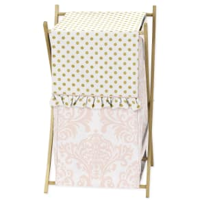 Sweet Jojo Designs Laundry Hamper for the Amelia Collection By, Multi-Colored