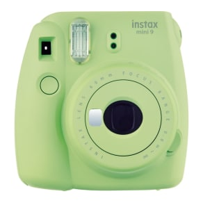 Instax L Grn Mini 9 Instant Camera - Lime Green, Lime