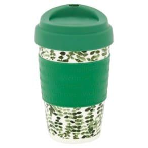 Waitrose Coffee Cup Leaves Green