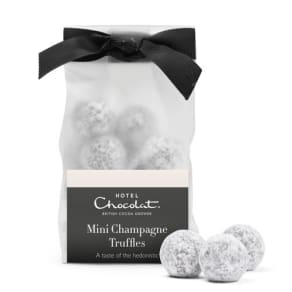 Mini Chocolate Champagne Truffles