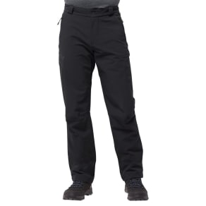 Jack Wolfskin Softshell Trousers Men Activate Thermic Pants Men 50 Black