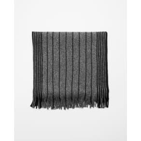 Express Mens Stripe Merino Wool Scarf