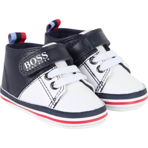 Hugo Boss Baby Boy Baskets, Blue & White