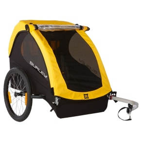 Burley Bee Kids' Bike Trailer - Yellow
