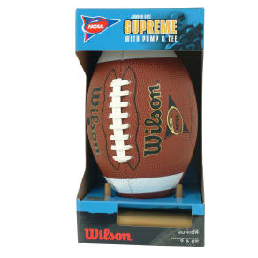 Wilson Ncaa Supreme Junior Competition Football
