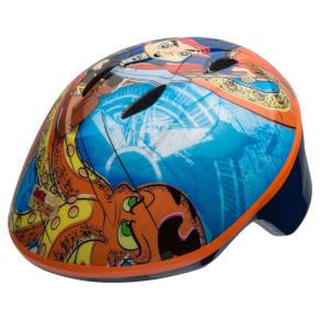 Jake and the Neverlands Pirate Toddler Helmet - Blue/Orange