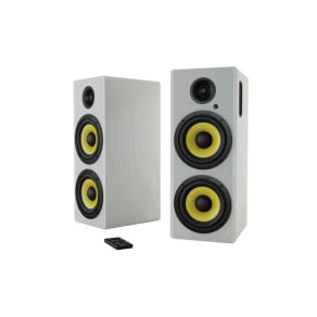 Hoch Bt 350w Hi-Fi Bluetooth Speakers With Integrated Amplifier and 3.5mm/Rca Stereo Input - Set of 2