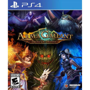 Armagallant: Decks of Destiny Playstation 4