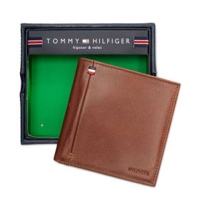 Tommy Hilfiger Men's Leather Palmer Hipster Wallet