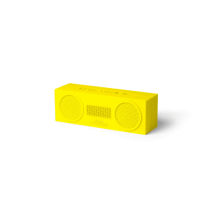 Lexon Tykho Booster Wireless Speaker, Yellow, Yellow