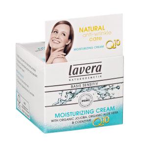 Lavera Basis Sensitiv Moisturising Cream With Q10 50ml - 50ml