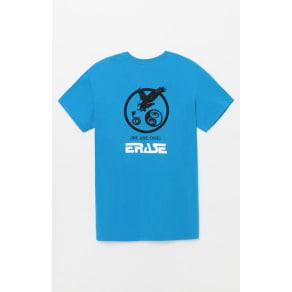 Erase Mens Yin Yang T-Shirt - Turquoise