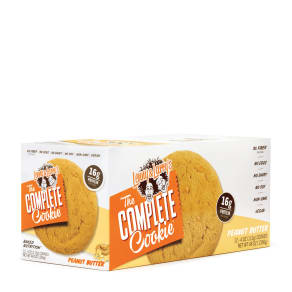The Complete Cookie(r) - Peanut Butter - 12 Cookies - Lenny & Larry's(r) - Meal Replacement Protein Bars