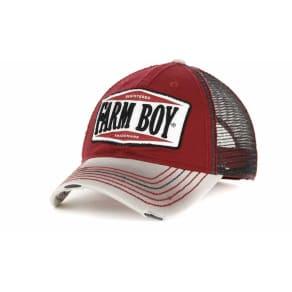 Farm Boy Cycle Shop Mesh Cap