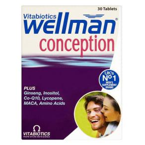 Vitabiotics Wellman Conception 30 Tablets