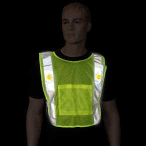 Safeways Neon Yellow Led Power Vest