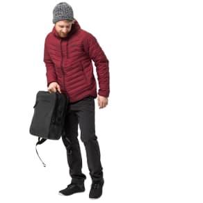 Jack Wolfskin Men's Quilted Coat Aero Trail Men Xxxl Red