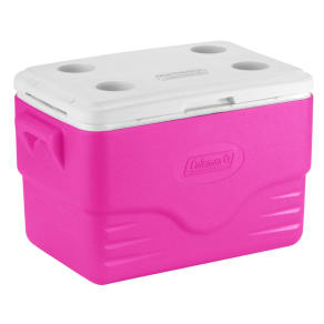 Coleman 36 Quart Performance Cooler, Pink