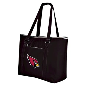 Arizona Cardinals - Tahoe Cooler Tote by Picnic Time (Black)