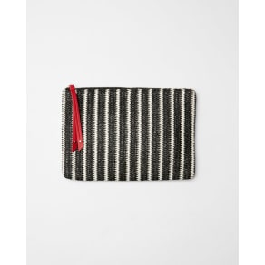 Express Womens Striped Pouch