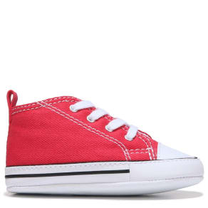 152aefd06a Converse Kids  039  Chuck Taylor All Star First Star Crib Shoes (Varsity Red