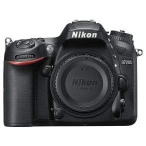 Nikon D7200 Dslr Camera, 24.2 Mp, Hd 1080p, Built-In Wi-Fi, Nfc, 3.2 Lcd Screen, Body Only