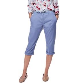 Maine New England Light Blue Cropped Chino Shorts