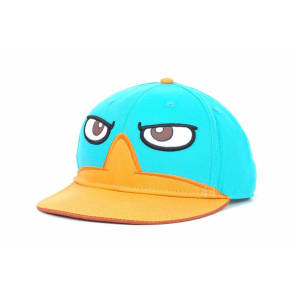 Phineas & Ferb Nickelodeon Perry Big Face Snapback Cap