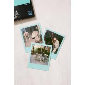 Impossible Duochrome Mint Colour Polaroid 600 Instant Film, Mint