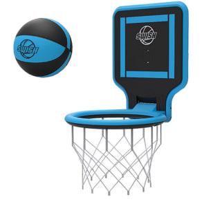 Swish Portable Basketball Hoop - Blue