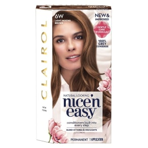 Nice n Easy Age Defy Hair Dye 6w Light Chocolate Brown 177ml