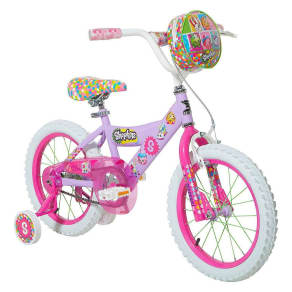Kids Dynacraft 16 Bike - Shopkins, Purple
