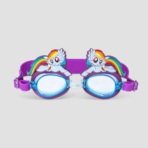 Girls' My Little Pony Goggles And Swim Mask - Blue