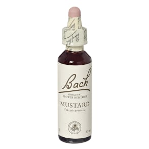 Bach Original Flower Remedies Mustard 20ml - 20ml