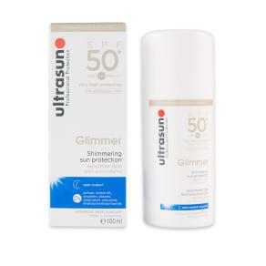 Ultrasun Glimmer Spf50+ 100ml