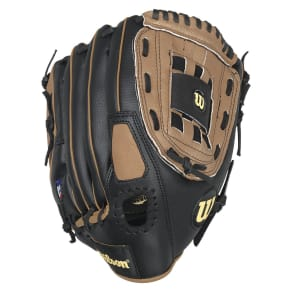 Wilson A350 12 Baseball Glove, Black Brown - Dnu