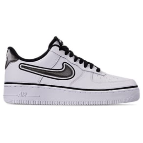 Nike Boys' Grade School Air Force 1 '07 Lv8 Sport Casual Shoes, White