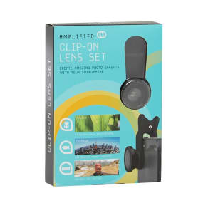 Amplified Clip-On Lens Set