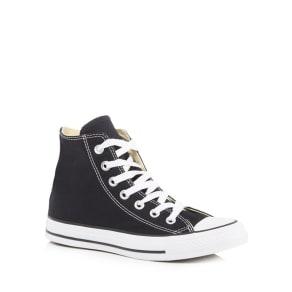 Converse - Black Canvas 'All Star' High Tops