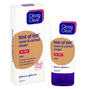 Clean & Clear Hint of Tint? Cover & Correct Cream Light Shade