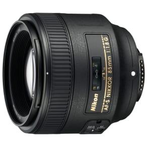 Nikon Af-S Nikkor 85mm F/1.8g Af-S Telephoto Lens