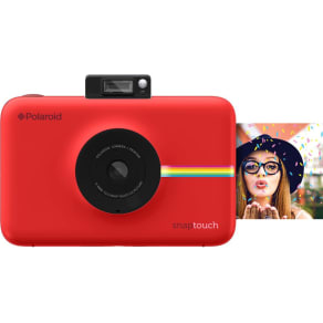 Polaroid Snap Touch Instant Digital Camera - Red, Red
