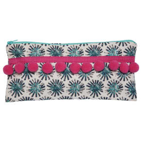 Izzirainey Dandelion Pompom Pencil Case