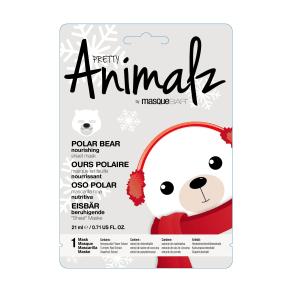 Masque Bar Pretty Animalz Polar Bear Nourishing Sheet Mask