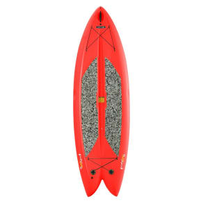 Lifetime 9'8 Adult Freestyle Paddleboard - Red, Multi-Colored