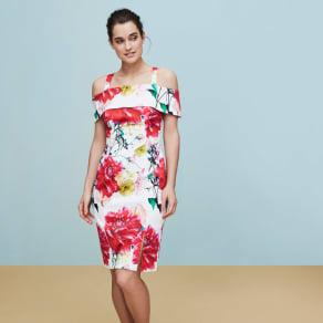 Coast Denise Print Shift Dress