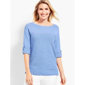 Talbots: Roll Cuff Sweater