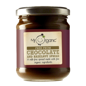 Mr Organic Free From Chocolate and Hazelnut Spread 200g
