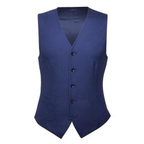 """""""Fern Blue Italian Wool Waistcoat"""""""