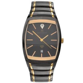 Accurist Gent's Two Tone Bracelet Watch